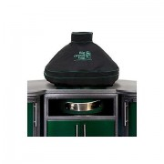 Чехол вентилируемый на купол для L, черный, с дымоходом BGE в комбинации со столом купить в интернет-магазине с доставкой