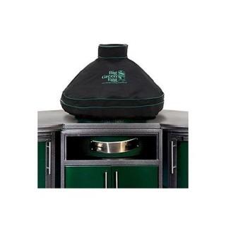 Чехол вентилируемый на купол для L, черный, с дымоходом BGE в комбинации со столом
