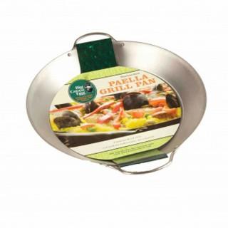 Сковорода стальная для гриля XXL/XL/L, круглая, 2 ручки, 3.8л