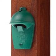 Открывалка для бутылок, зелёная чугунная настенная, в виде гриля купить в интернет-магазине с доставкой