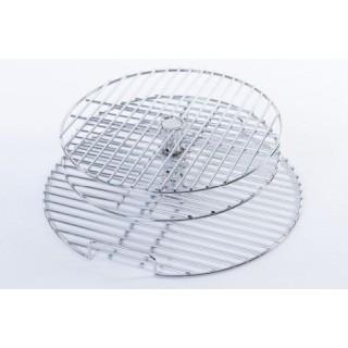 Решетка трехуровневая для гриля XL/L круглая, разборная