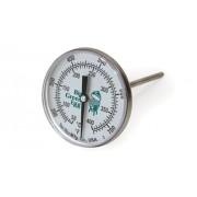Термометр штатный, круглый, шкала +50/+400С купить в интернет-магазине с доставкой