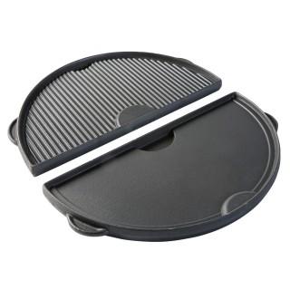 Сковорода полукруглая чугунная для гриля ХL