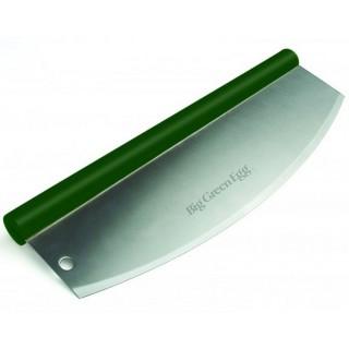Нож для пиццы, полумесяц, зелёная ручка